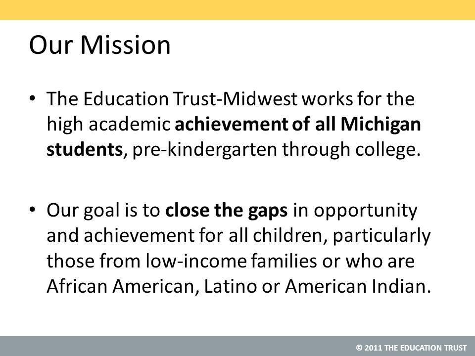 © 2011 THE EDUCATION TRUST Source: Average Scale Scores by District: Low-Income Students NAEP Data Explorer, NCES (Proficient Scale Score = 299) Detroit