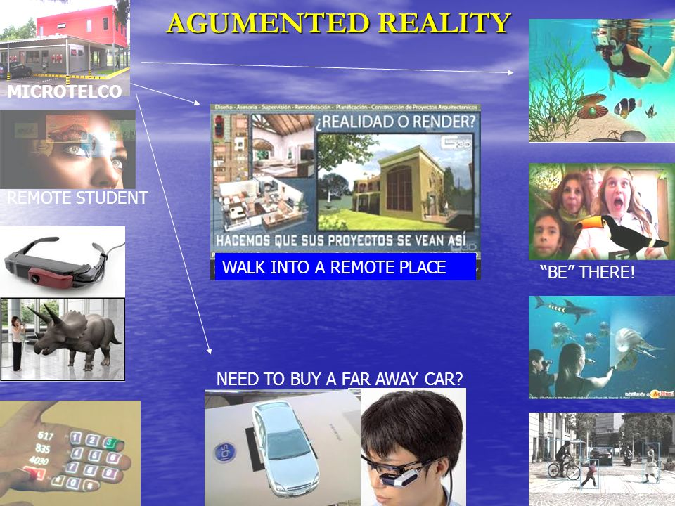 15 AGUMENTED REALITY NEED TO BUY A FAR AWAY CAR. BE THERE.