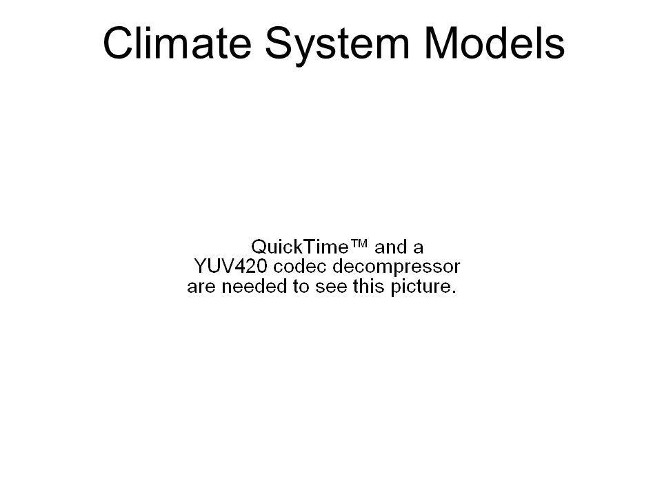 Climate System Models