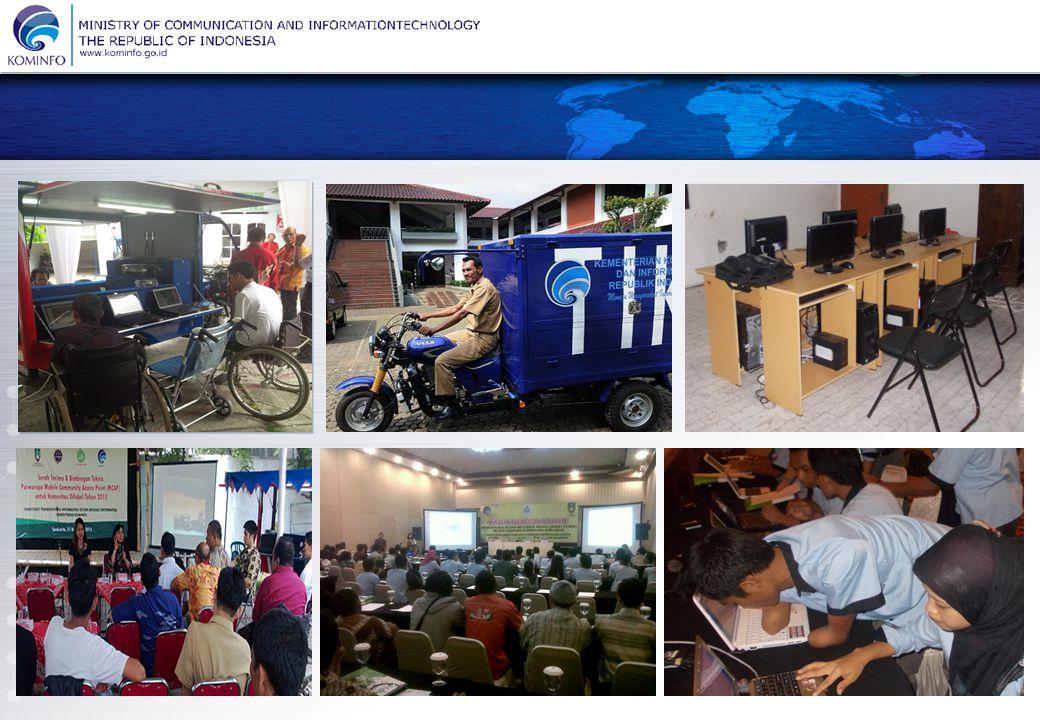KEMENTERIAN KOMUNIKASI DAN INFORMATIKA REPUBLIK INDONESIA Menuju Masyarakat Informasi Indonesia