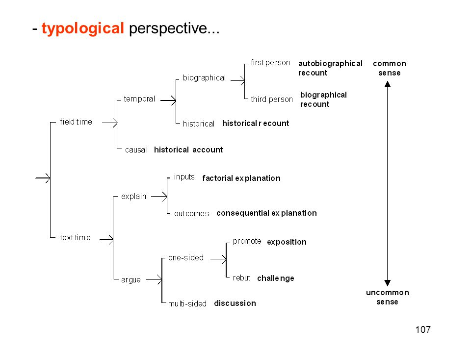 107 - typological perspective...