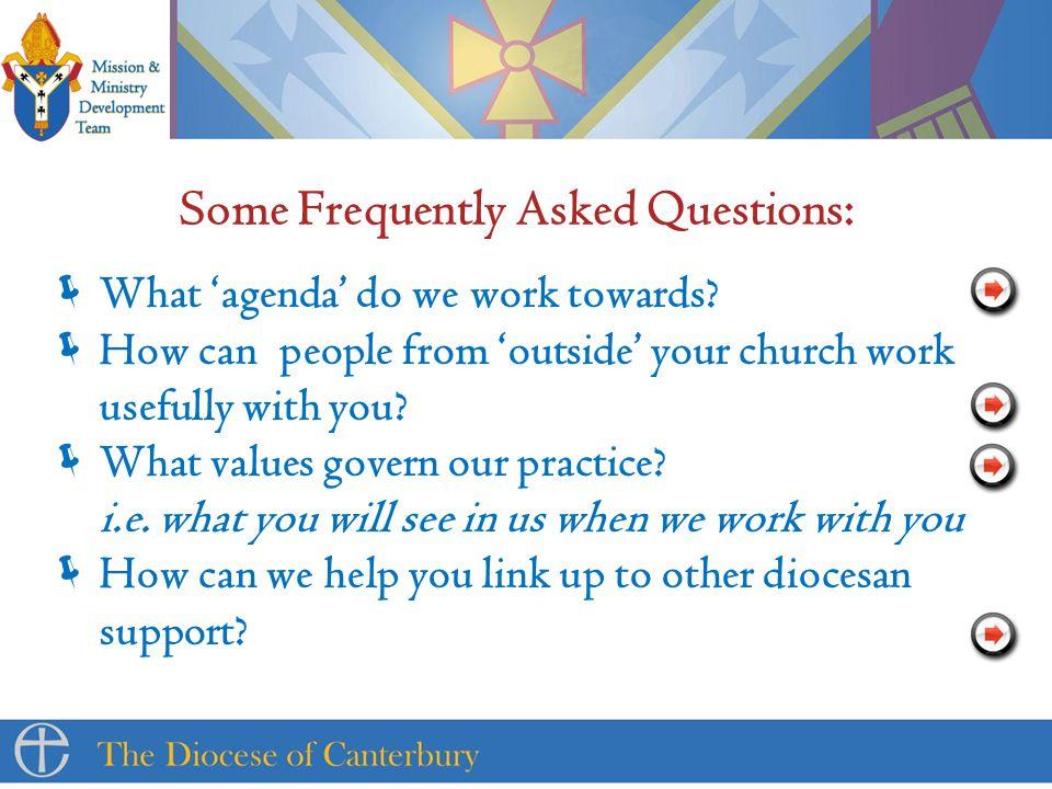  What 'agenda' do we work towards.