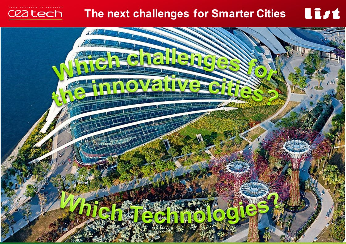 The next challenges for Smarter Cities