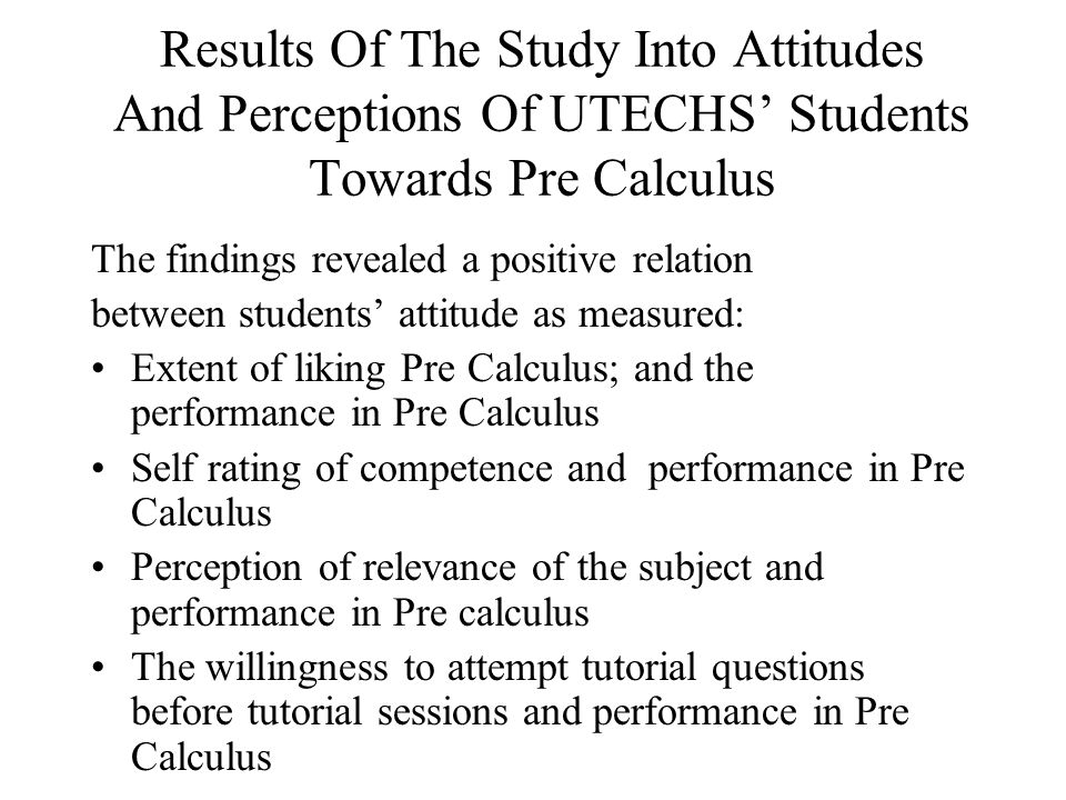 Cross –Tabulation Of The Time Spent Preparing For Pre Calculus And CXC/O Level Mathematics Grade