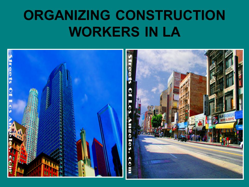 Solutions for Workers & the Community PORT TRUCKER ORGANIZING