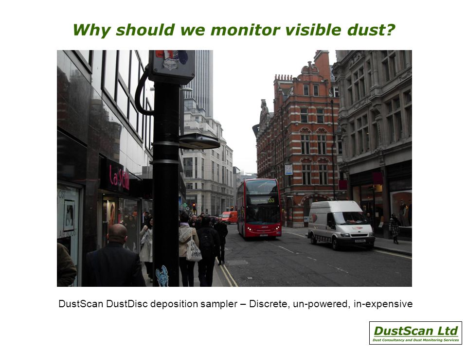 Why should we monitor visible dust.