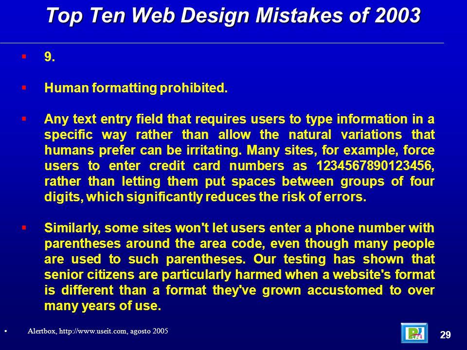  9.  Human formatting prohibited.