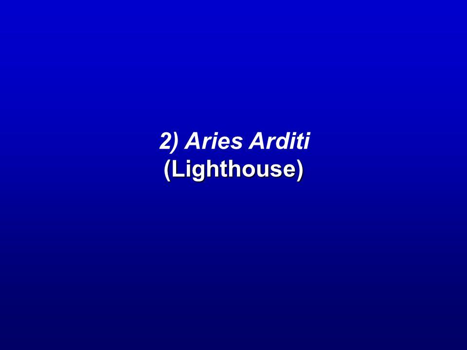 2) Aries Arditi(Lighthouse)