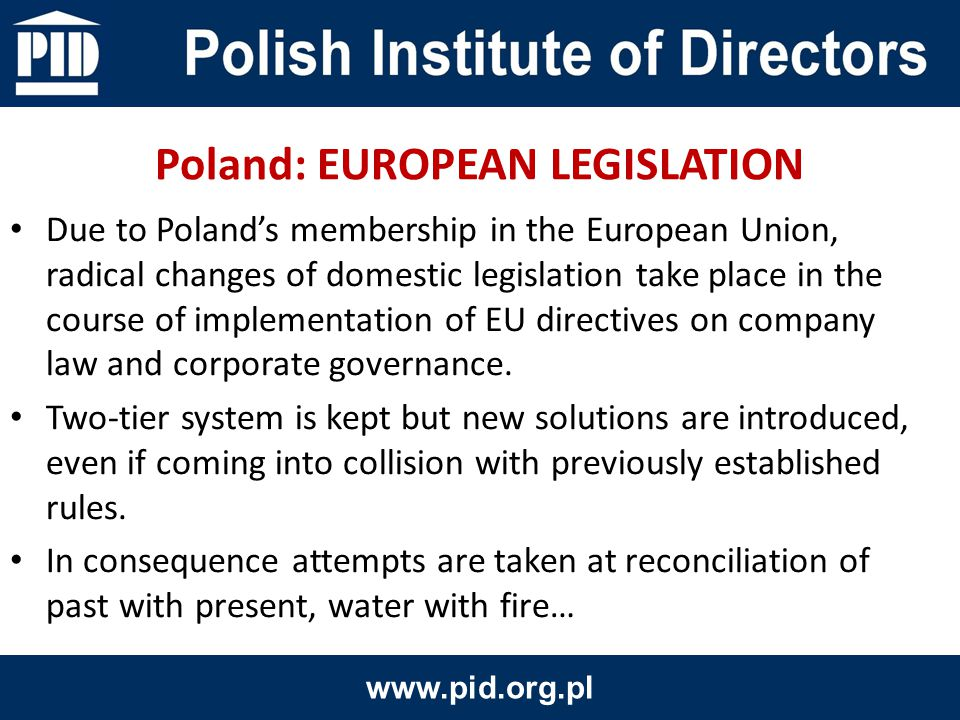 Foreign capital highly appreciate the presence and activities of pension funds on Polish capital market.