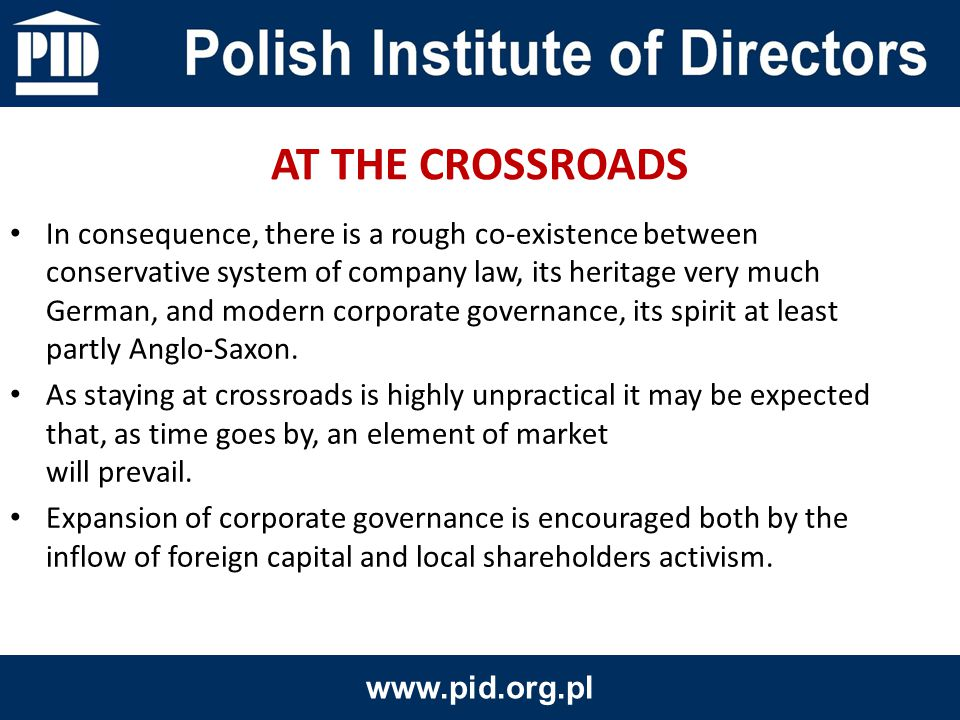 Commonly considered to be an emerging market, Poland proudly claims to be market already emerged.