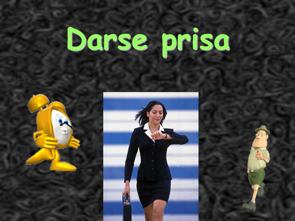 Señora Kauper s Spanish classes Darse prisa