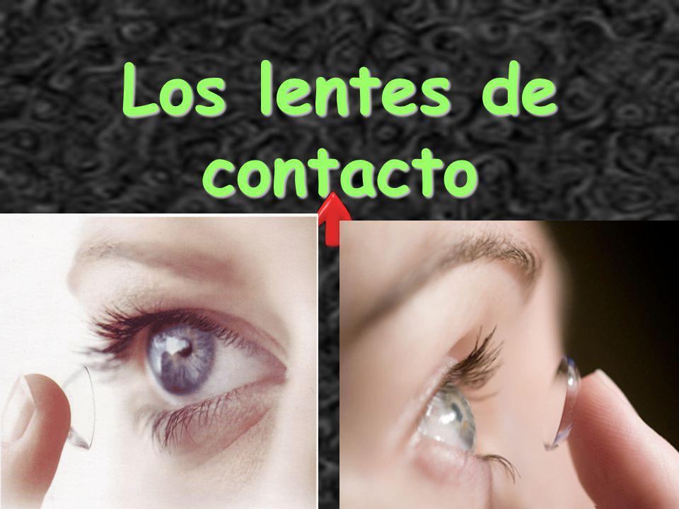 Señora Kauper's Spanish classes Los lentes de contacto