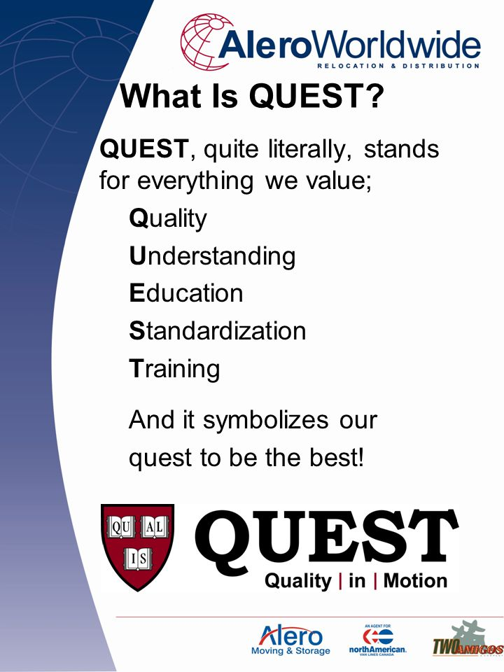 What Is QUEST.