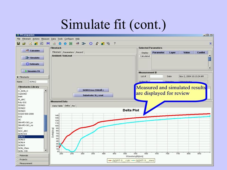 Simulate fit (cont.)