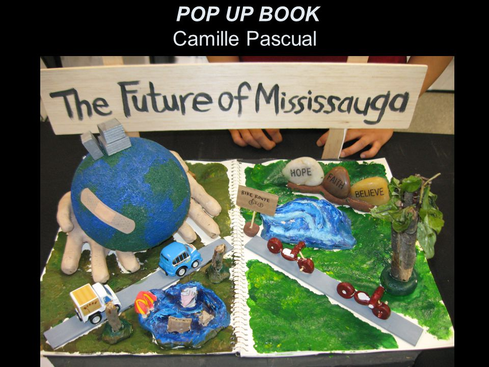 POP UP BOOK Camille Pascual
