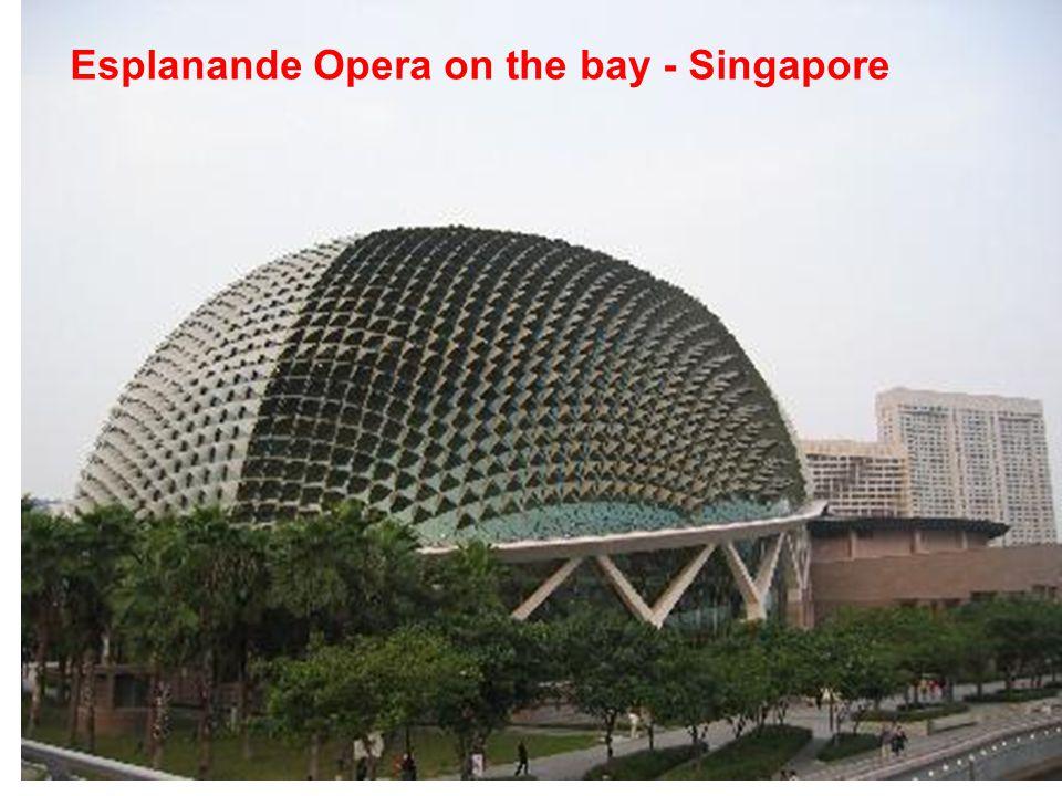 Esplanande Opera on the bay - Singapore