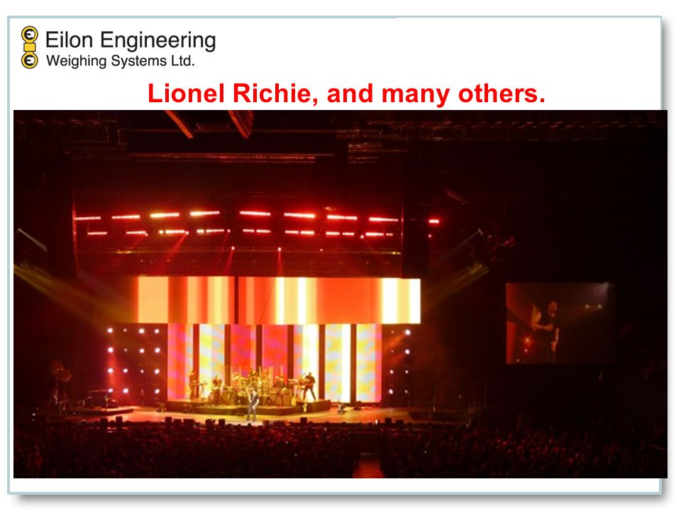 Lionel Richie, and many others.