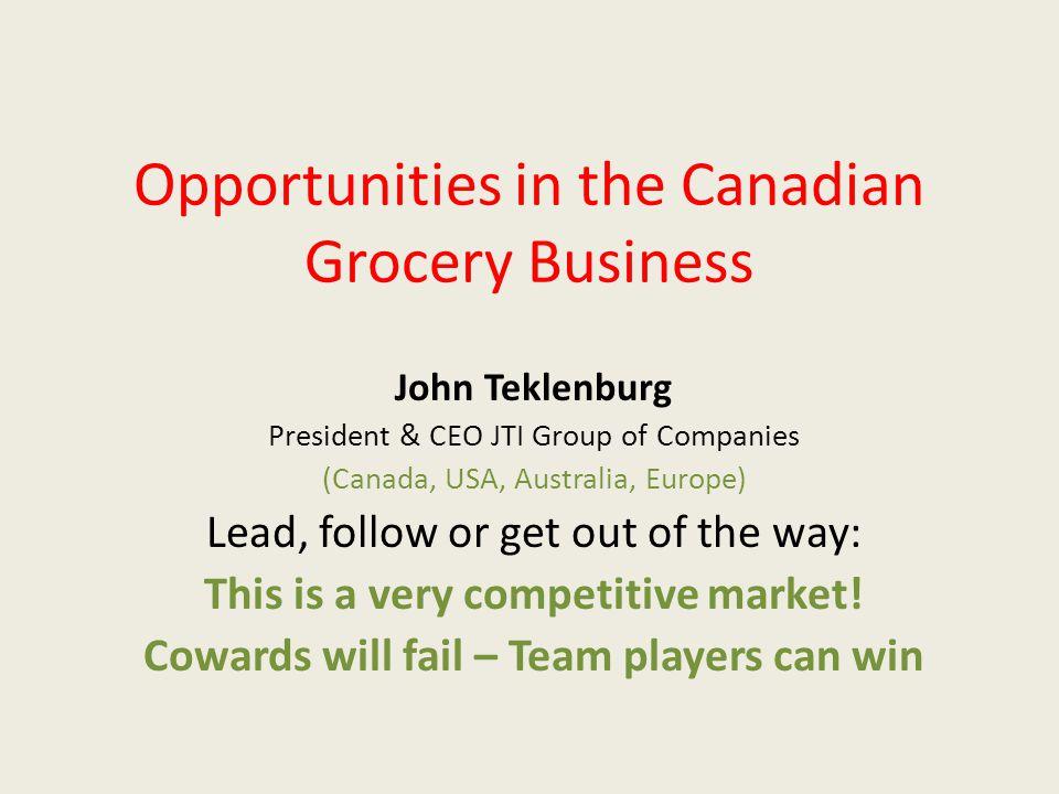 JTI Inc.(Canada) JTI Foods Inc. (USA) JTI Foods Pty Ltd.