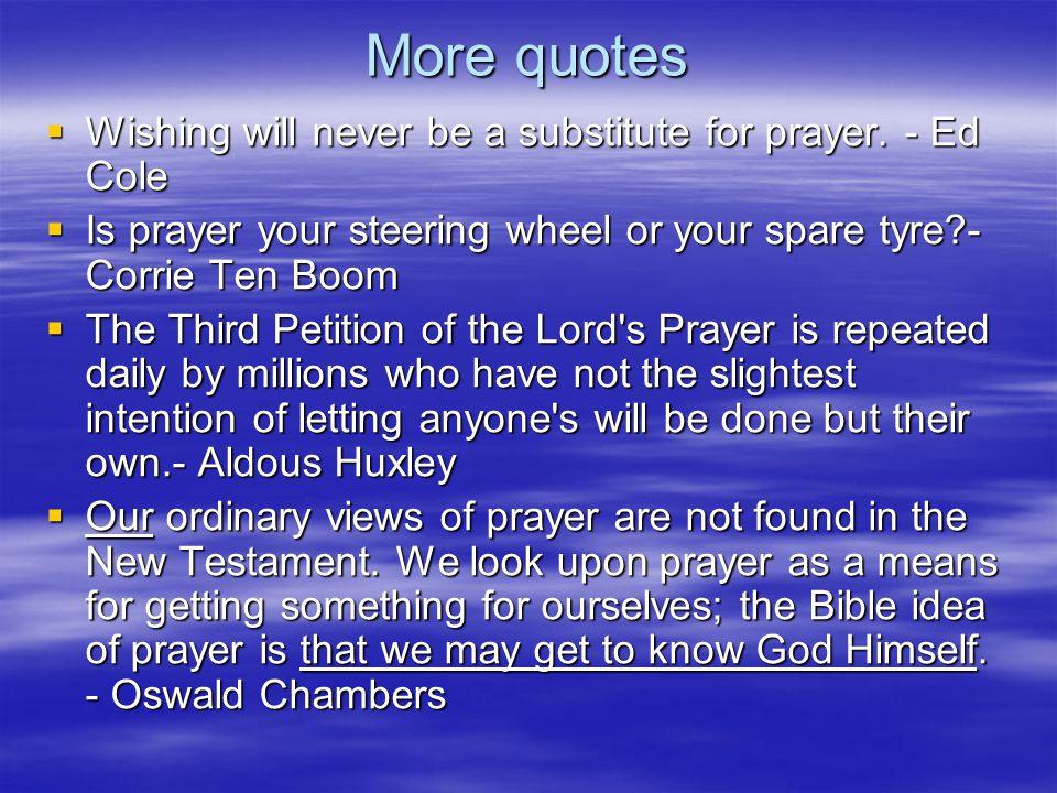 Why do we struggle with prayer .