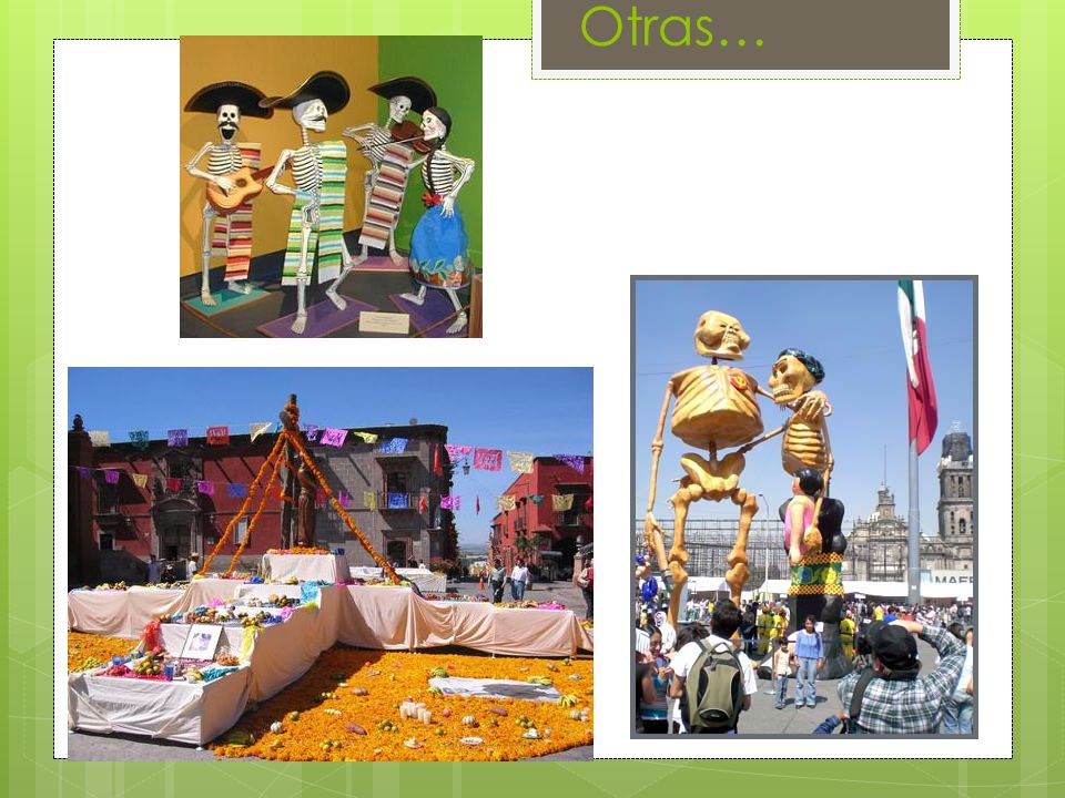 About this Celebration  The 'Day of the Dead' is one of the most respected holidays in many Latin American countries.