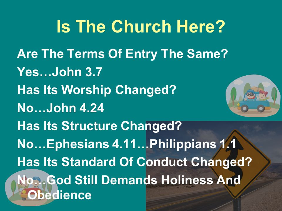 Is The Church Here. Are The Terms Of Entry The Same.
