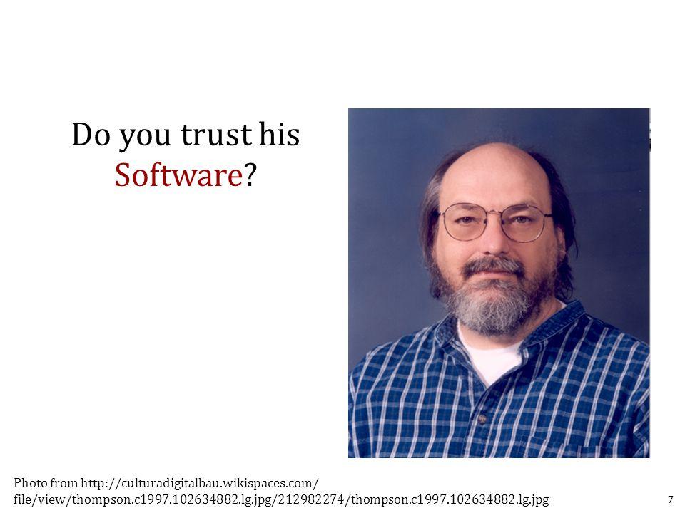 Ken Thompson Co-Creator of UNIX and C Turing Award: 1983 8