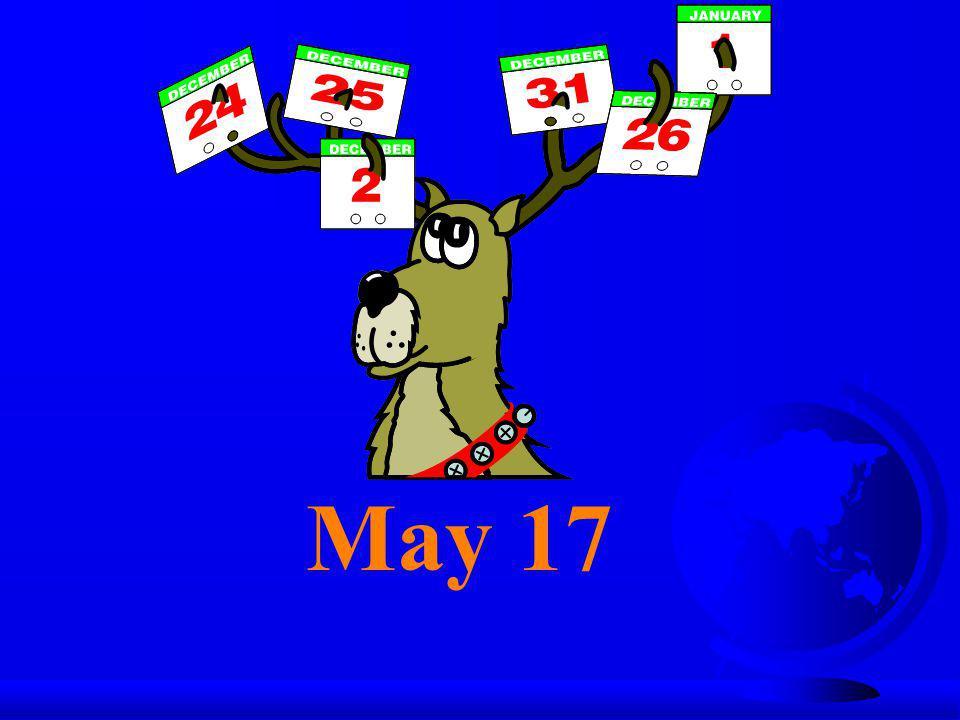 May 17