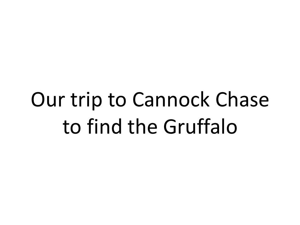 Our trip to Cannock Chase to find the Gruffalo