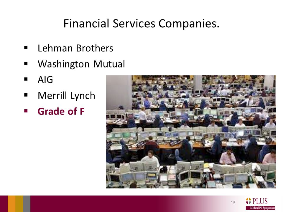 Financial Services Companies.