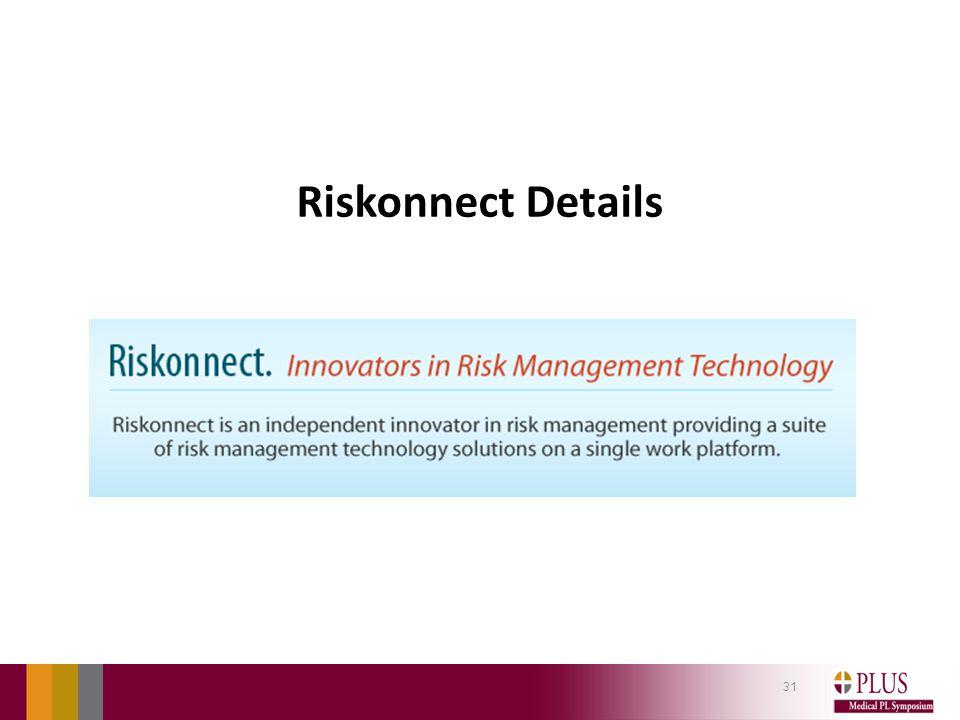 Riskonnect Details 31