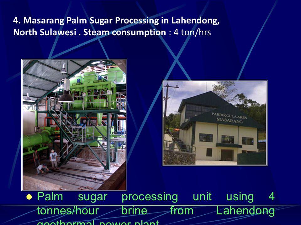 4.Masarang Palm Sugar Processing in Lahendong, North Sulawesi.