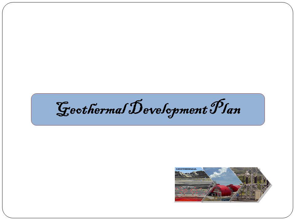 Geothermal Development Plan