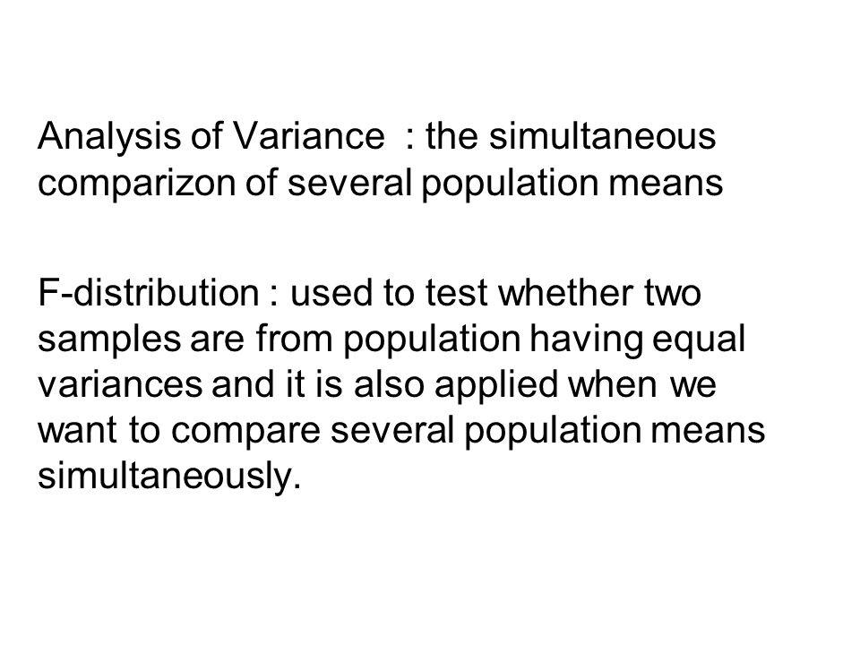 ANOVA Table Source of VariationSum of Squares Degrees of Freedom Mean SquareF Treatments Error Total 890.68 594.41SSE SS- Tolal 3 18 21 296.89 33.02 8.99 Nilai F tabel untuk α = 0.01, df numerator = 3 dan df denominator =18, adalah 5.09 Berikan kesimpulan anda !