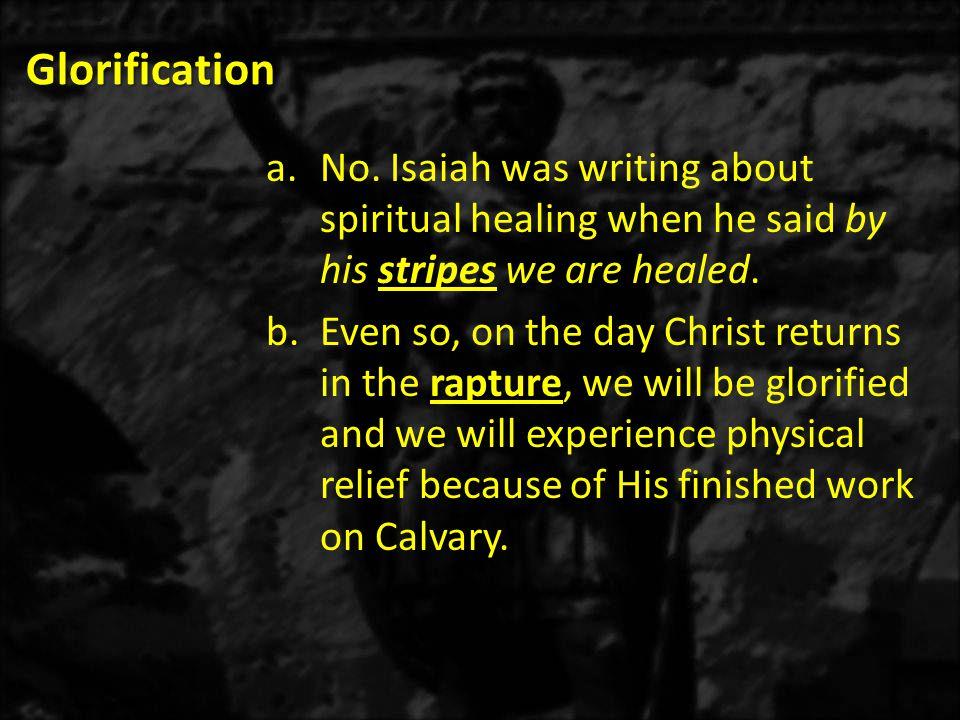 Glorification a.No.