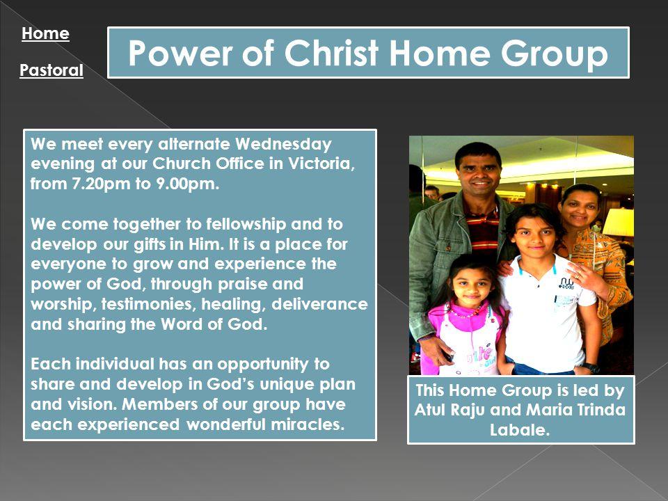 Alfa y Omega Home Group Home Pastoral Holy Nation Alfa y Omega es una iglesia joven que se complace mucho en la alabanza y adoracion a Dios, tambien apoyamos en oracion a las diferentes necesidades del pueblo de Dios.