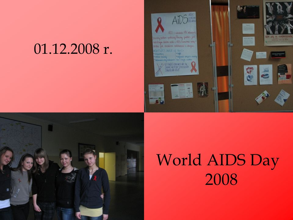 01.12.2008 r. World AIDS Day 2008