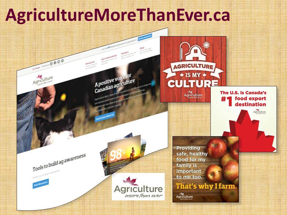 AgricultureMoreThanEver.ca