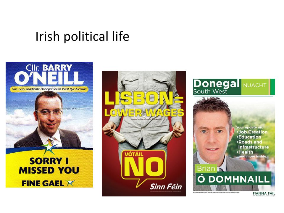 Irish political life