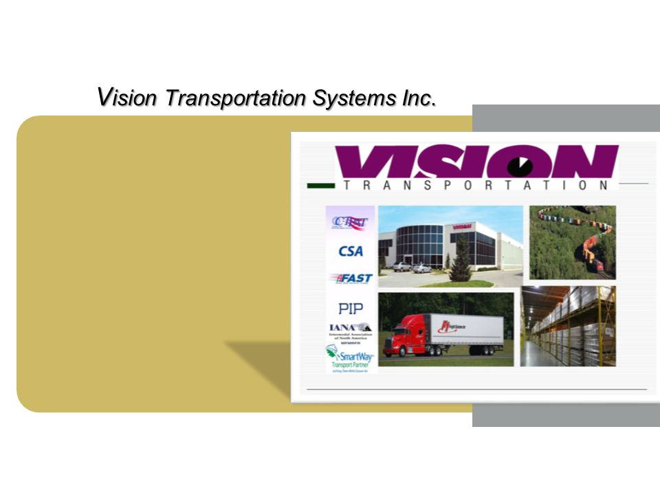 Image Area V ision Transportation Systems Inc.