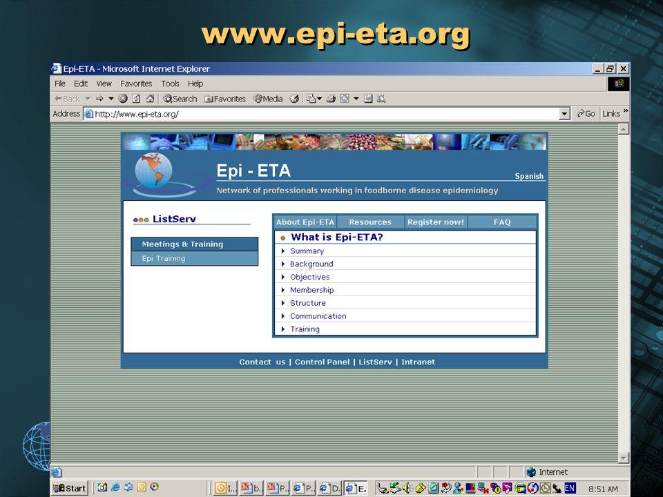 2004 Pan American Health Organization www.epi-eta.org