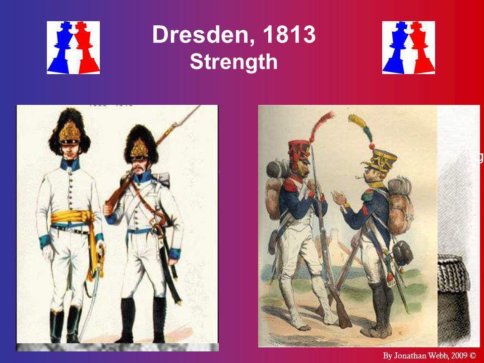 Dresden, 1813 Strength  Grande Armée  Well  Allied Army of Bohemia  Well  Napoleon Bonaparte  170,000  120,000  Karl Philipp Furst zu Schwarze