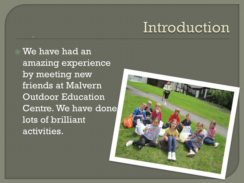  Malvern OEC is located near the edge of Malvern Hills.