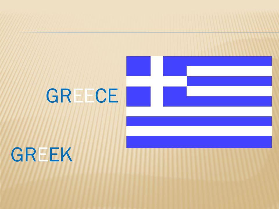 GREECE GREEK