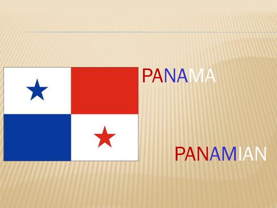 PANAMA PANAMIAN