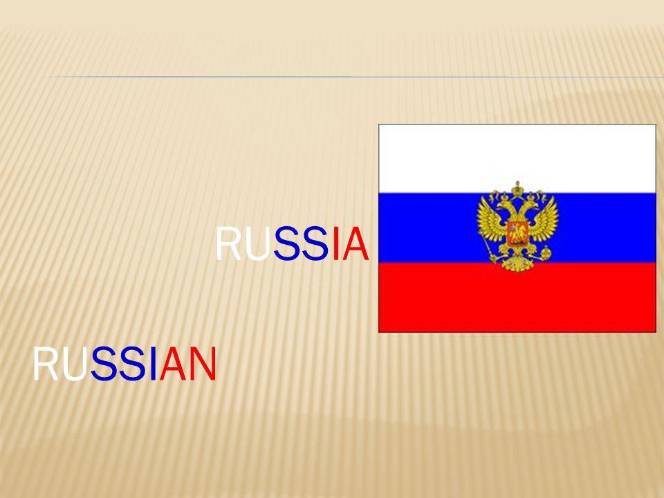 RUSSIAN RUSSIA
