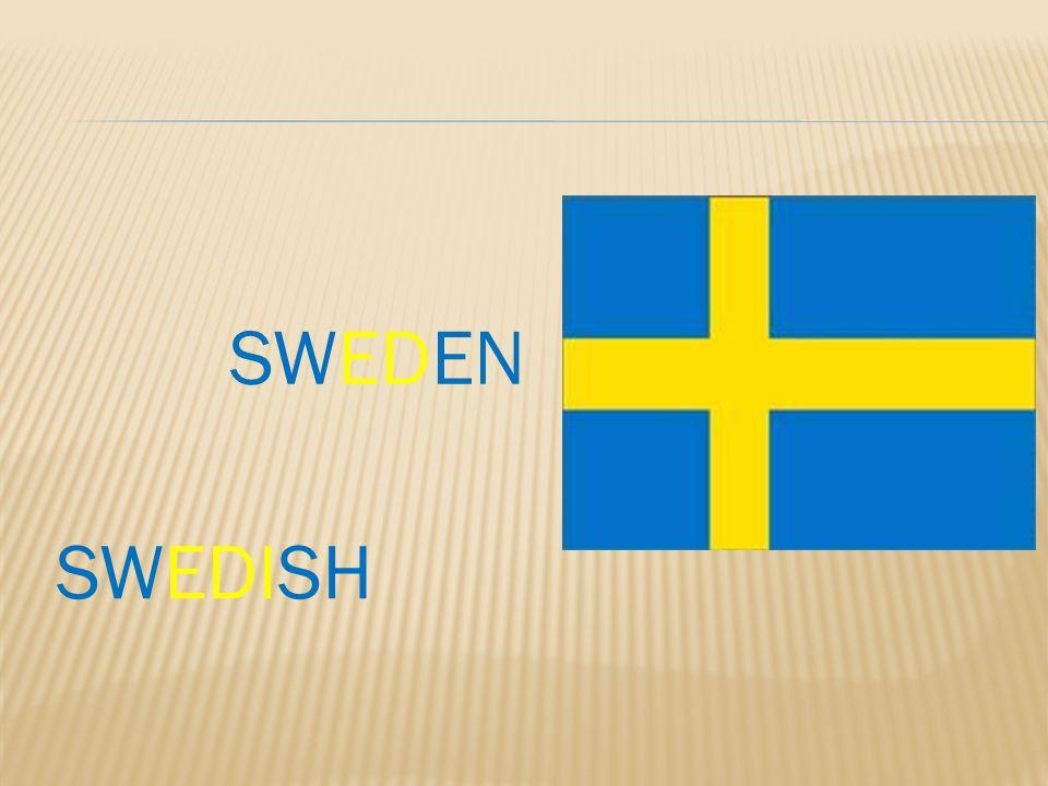 SWEDISH SWEDEN