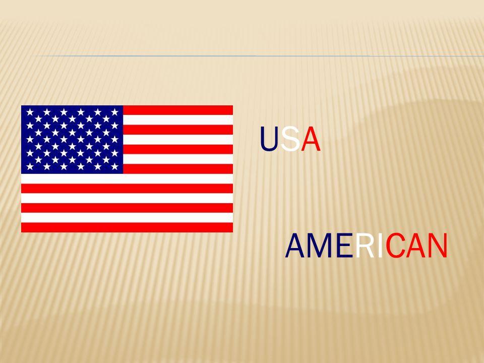 USAUSA AMERICAN