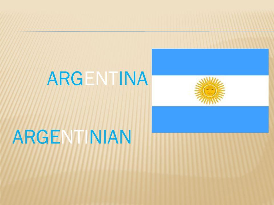 ARGENTINA ARGENTINIAN