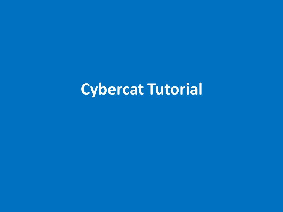 Cybercat Tutorial