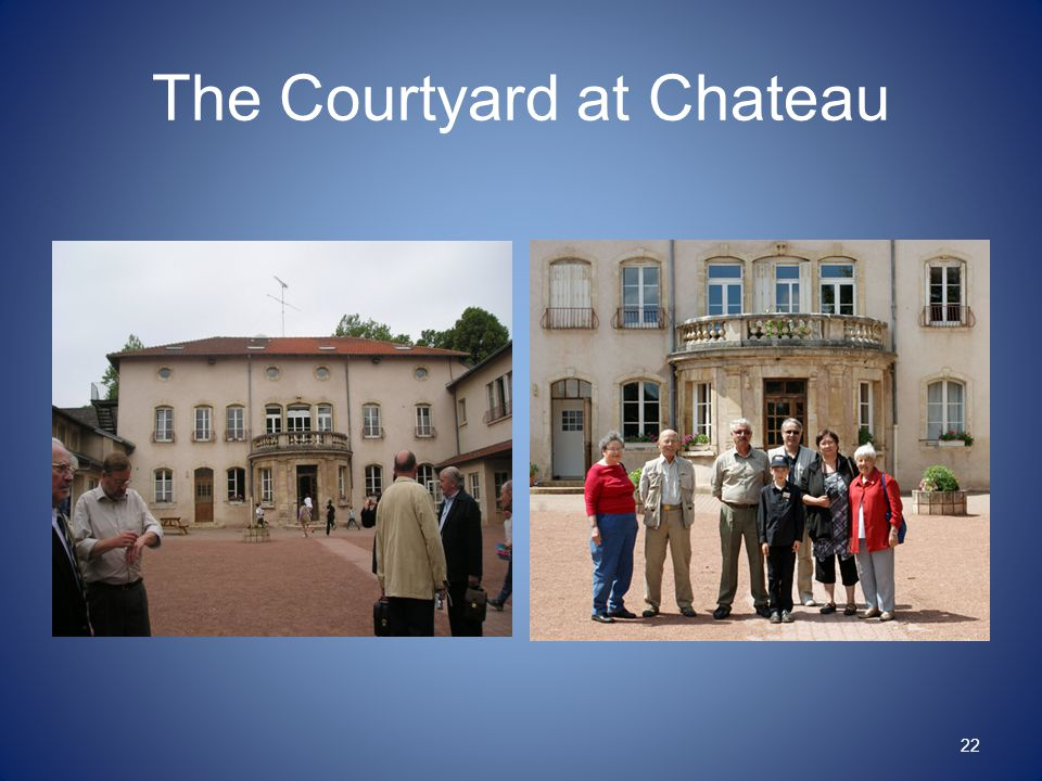 The Courtyard at Chateau 22